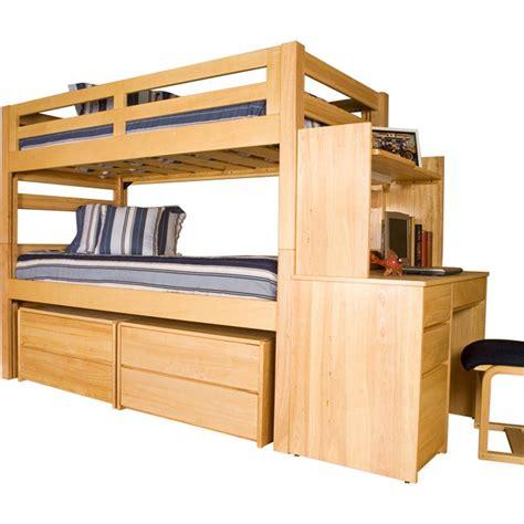 loft graduate series xl bunk bed finish free shipping
