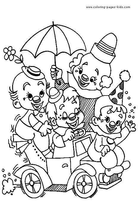 printable coloring pages circus the cardenalito coloring pages