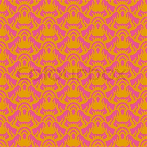 pink ethnic wallpaper ethnic vector seamless pattern in pink and gold texture