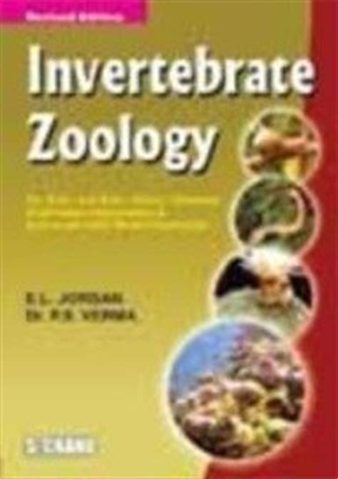 reference books for zoology invertebrate zoology by p s verma