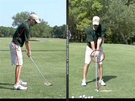 golf swing address golf address ball position and posture youtube