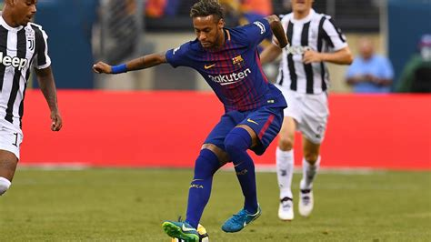 barcelona juventus neymar dazzles as barcelona down juventus sport the