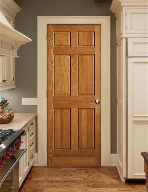 our new home has oak trim with matching 6 panel doors throughout trying to find exles