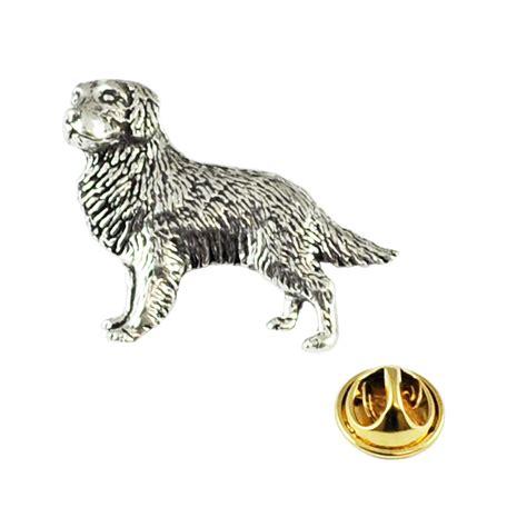golden retriever pin golden retriever pewter lapel pin badge