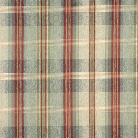red plaid upholstery fabric f140 green blue and red plaid chenille upholstery grade