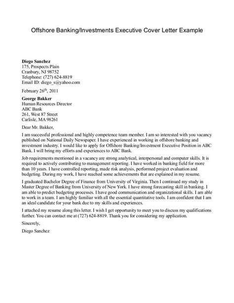 sles of cover letters for internships cover letter template investment banking 1 cover letter