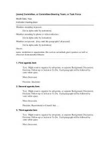 ohs committee meeting minutes template best photos of basic board minutes template basic