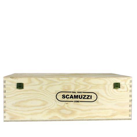 cassette legno vendita cassetta in legno da 12 bottiglie enoteca scamuzzi