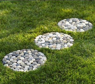 Plastic Garden Rocks River Stepping Stones Set Of 3 Dollar Stores River Rocks And Backyards