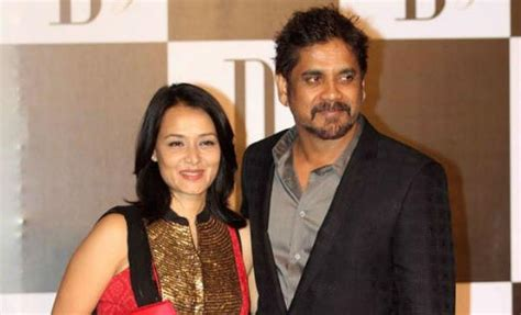 actress amala and nagarjuna wedding photos amala nagarjuna ready to welcome love birds nag chaitanya