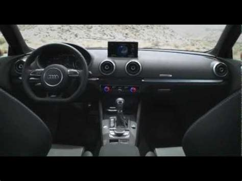 audi shows 2013 a3 interior at ces car and driver blog all new audi a3 sportback 2013 interior youtube