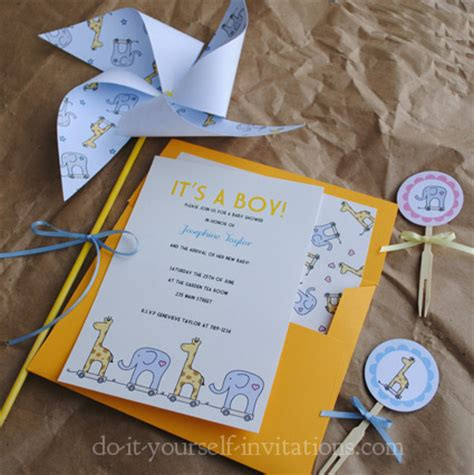 printable invitation kits baby shower printable giraffe baby shower invitations