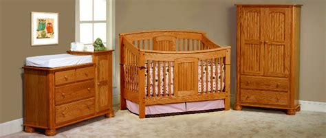 Made Cribs by Cribs Made In Usa Solid Wood Children S Furniture Baby