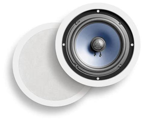 Stereo In Ceiling Speaker by Polk Audio Rc80i 2 Way In Ceiling In Wall Speakers Pair White Home Audio Theater