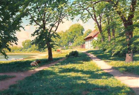 Summer Houses For Garden - landscape painting swedish artist johan krouthen 1858 1932 blog of an art admirer