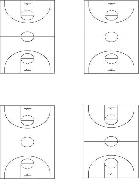 court diagram printable blank printable basketball diagram