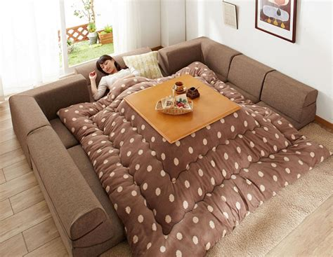 kotatsu bed japanese style kotatsu heated tables home design