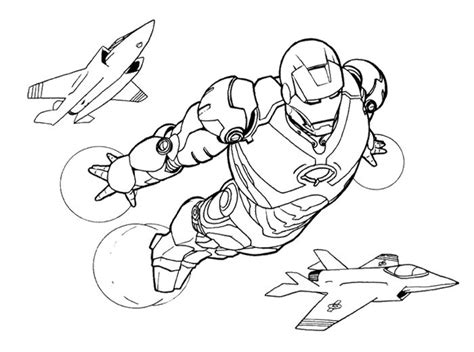 iron man flying coloring pages iron man fly with airplane coloring page kids coloring