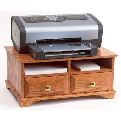 Printer Stand Woodworking Plan From Wood Magazine Desk Top Printer Stand