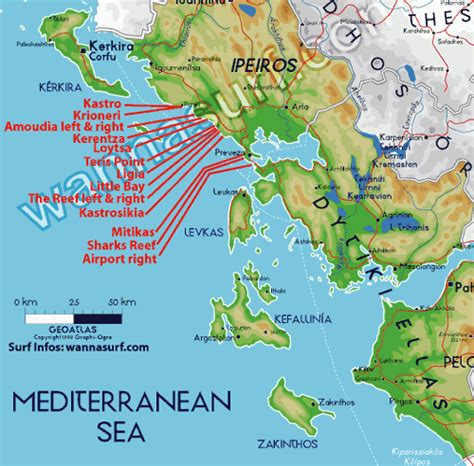 ionian sea map ionian sea surfer en ionian sea greece wannasurf