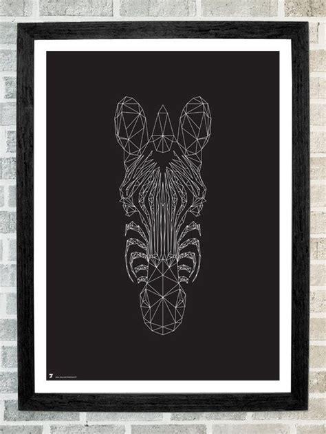 Kaos Print Umakuka Triangle Skull zebra triangles print 11x16 by stola12 on etsy 20 00 inspirations i