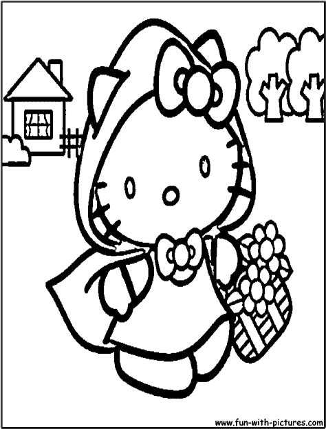 hello in spring colouring pages
