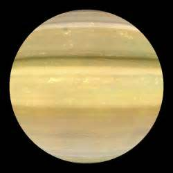 what color is the planet saturn saturn enhanced colors dataset science on a sphere
