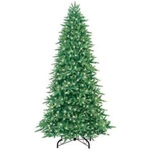 home depot trees ge 9 ft pre lit just cut fraser fir artificial