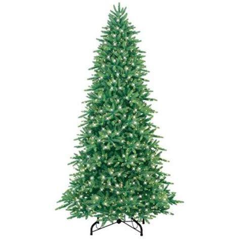 fraser fir pre lit tree ge 9 ft pre lit just cut fraser fir artificial