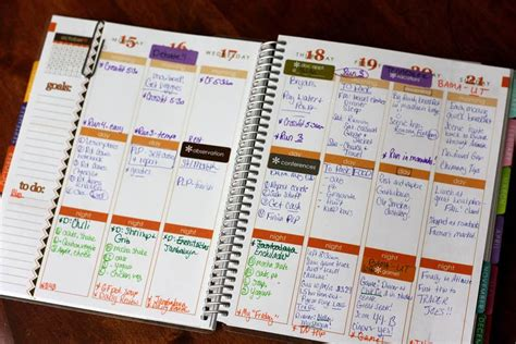 this is the day planner diary by erin rippy diy erin condren planner 5 months later katrina runs for