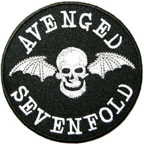A7x Avenged Sevenfold Metal Band avenged sevenfold metal rock band logo patch