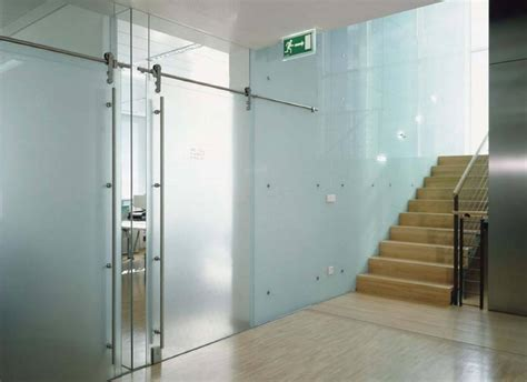 Commercial Interior Glass Doors Heavy Glass Frameless Doors Anchor Ventana Glass