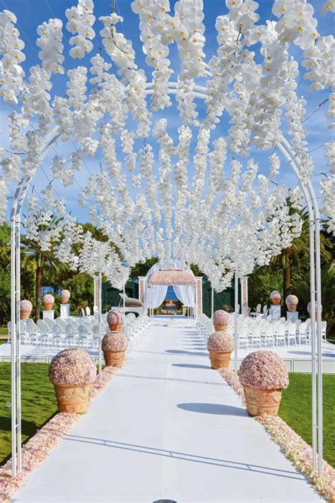 wedding ceremony decorations style the aisle wedding ceremony ideas the magazine