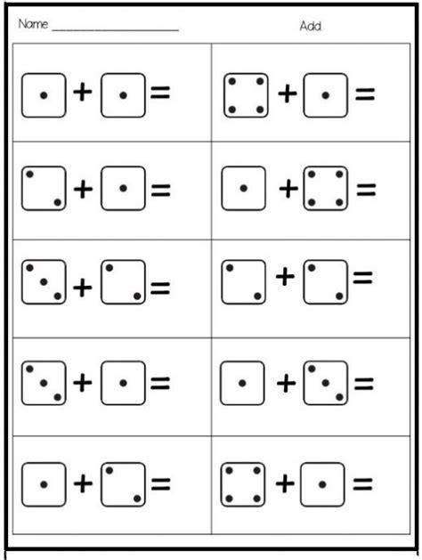 free kindergarten math worksheets for kindergarten