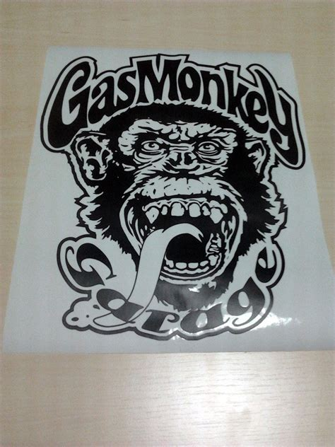 Gas Monkey Aufkleber by Gas Monkey Garage Stickers Www Imgkid The Image