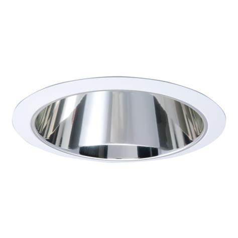 Ceiling Light Reflector Halo 426 Series 6 In White Recessed Ceiling Light With Specular Reflector Cone Trim 426 The