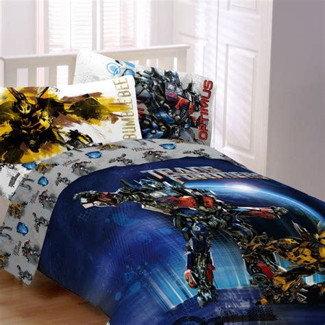 transformer comforter brand new transformers 4pc twin comforter sheet set ebay