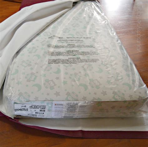 crib mattress cover from crib mattress to bed with no sew diy cover