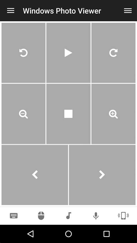 windows remote windows photo viewer remote unified remote