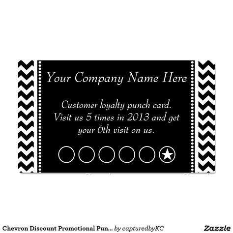 Punch Card Template Cyberuse Loyalty Card Template