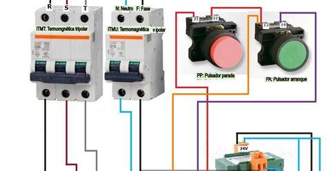 fotos de como conectar lificador newhairstylesformen2014 com maniobra marcha paro trifasico bobina contactor 24v