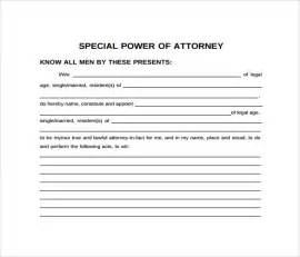 Authorization Letter Vs Power Of Attorney Authorization Letter With Special Power Of Attorney 28 Images Sle Special Power Of Attorney