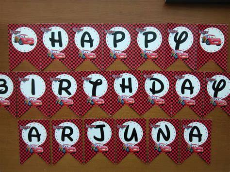 Bunting Flag Bendera Ulang Tahun Happy Birthday 7 jual cars bunting flag birthday bendera happy birthday