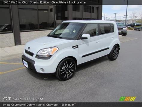 Kia Soul Ghost Clear White 2010 Kia Soul Ghost Special Edition Black