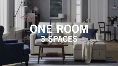 one room small space big style one room 3 spaces