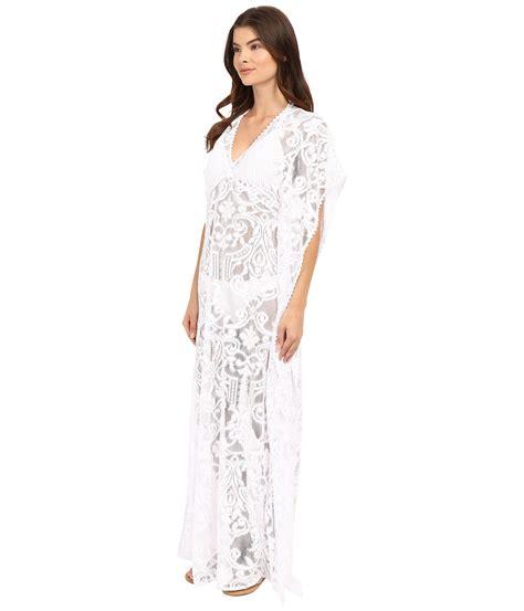 Fersya Maxi saha freya maxi crochet dress with cleavage cover up white zappos free shipping both ways
