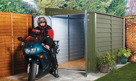Trimetals Bike Shed by Bike Sheds And Metal Garden Storage Units From Trimetals Uk