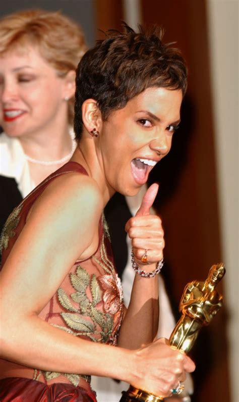 No Halle At The Oscars by Halle Berry Says Black Oscars Felt