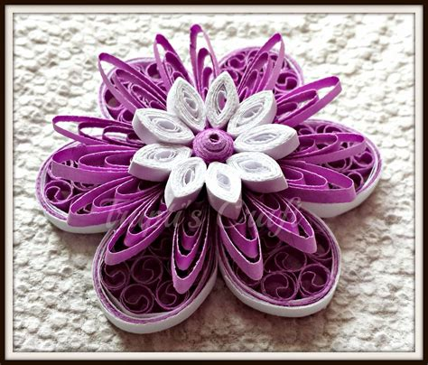 Paper Quilling Flower - trupti s craft paper quilling flowers