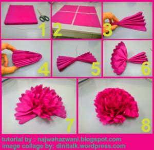 cara membuat bunga dari kertas tisu makan tutorial bunga crepe joy studio design gallery best design